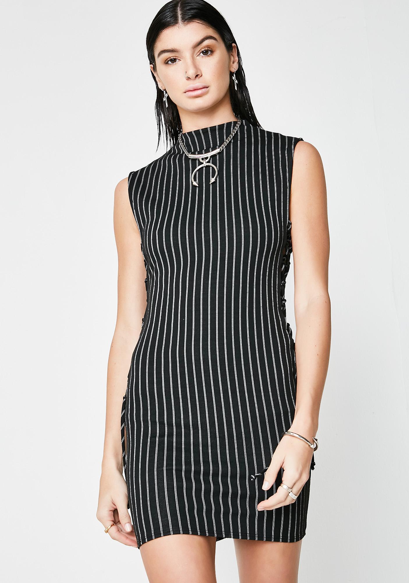 Play Harder Striped Dress