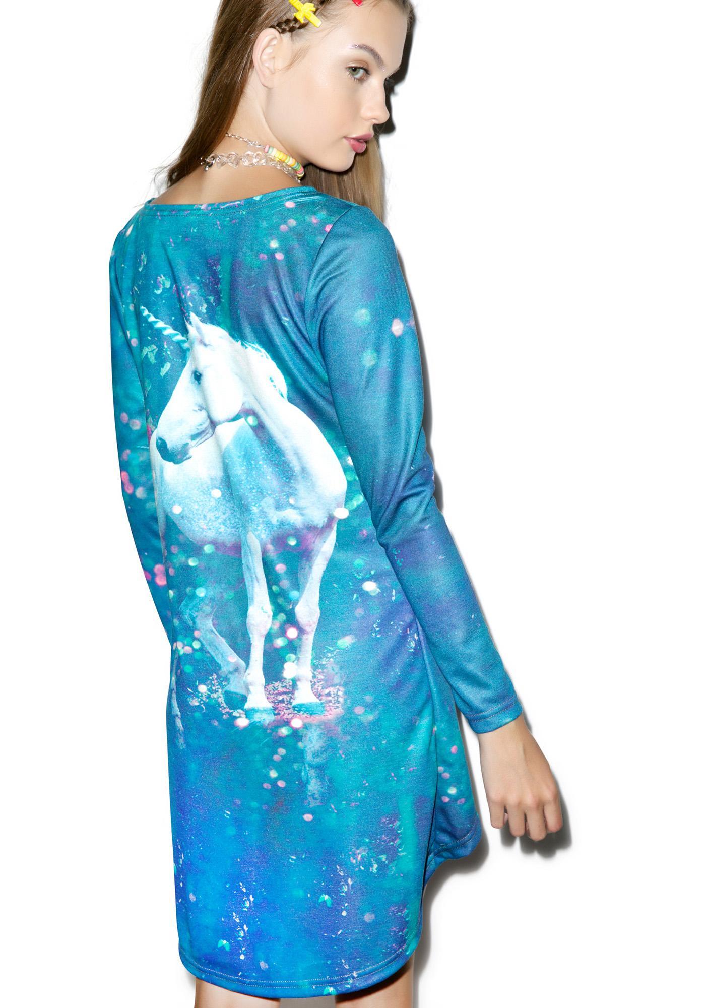 Unicorn Trapeze Dress