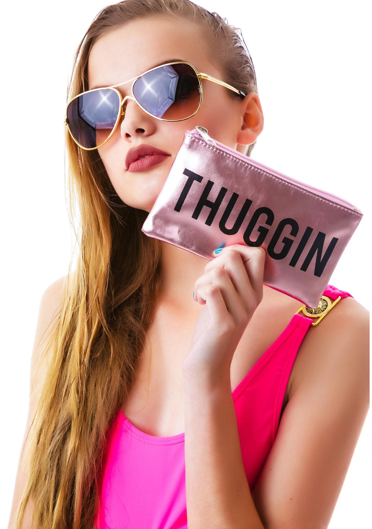 Married to the Mob 7x4 Thuggin Pouch