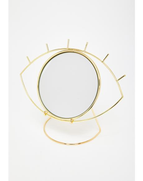 Beholder's Eye Table Mirror
