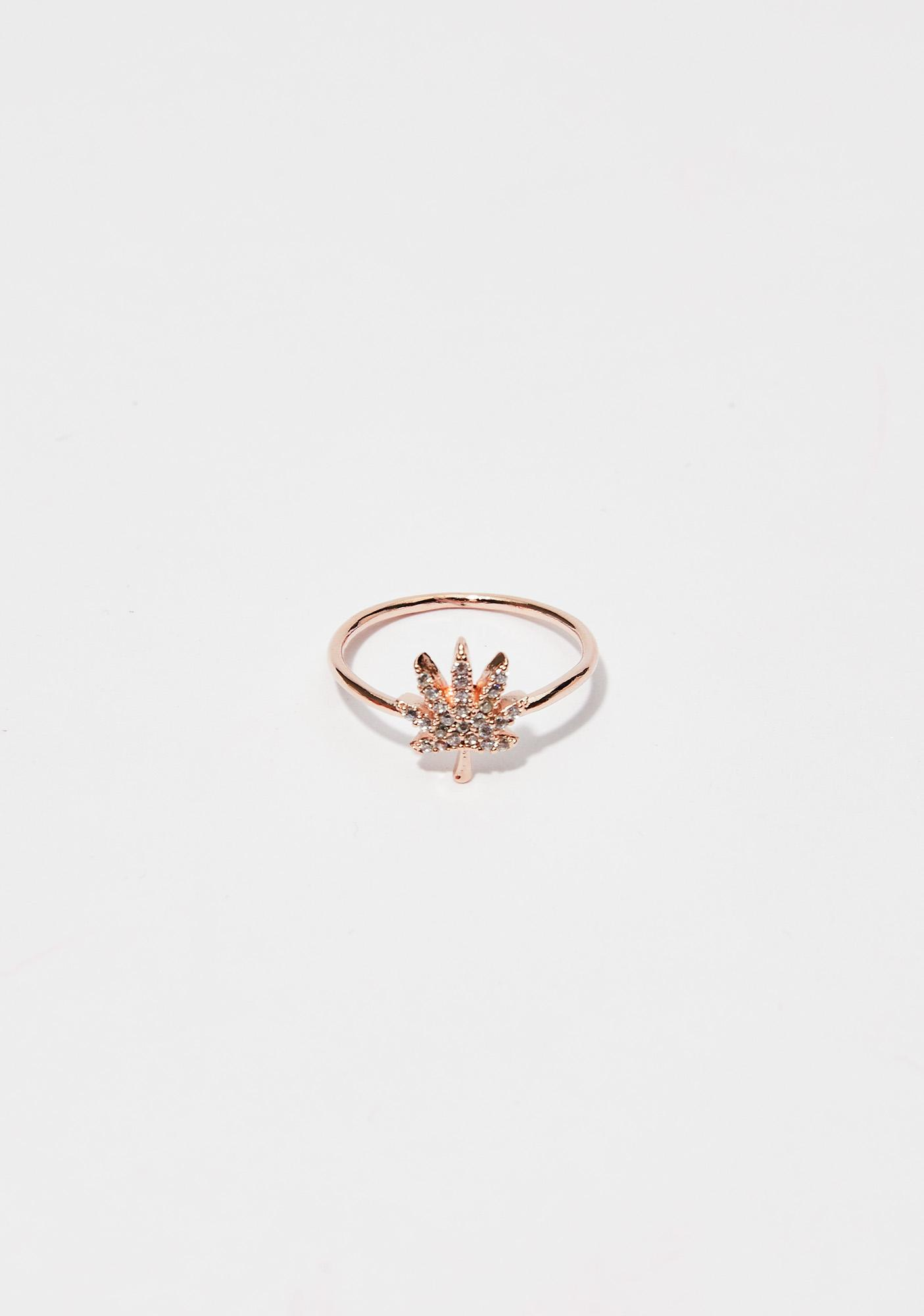 Git Faded Leaf Ring