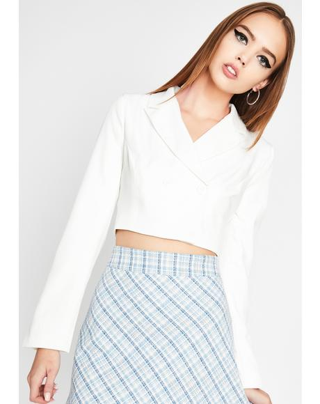 Pure Office Heaux Cropped Blazer