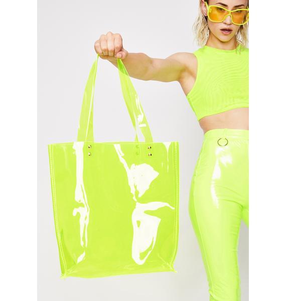 Lucid Dreamz Clear Tote Bag