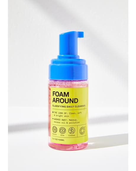 Foam Around Clarifying Daily Cleanser