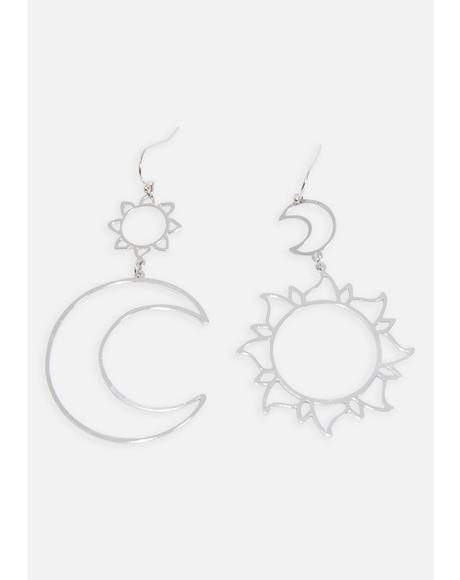 Celestial Bodies Drop Earrings