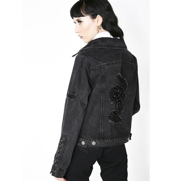 Killstar Dark Daze Denim Jacket