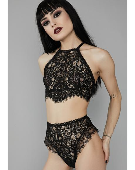 Haunted Harlow Lace Panties