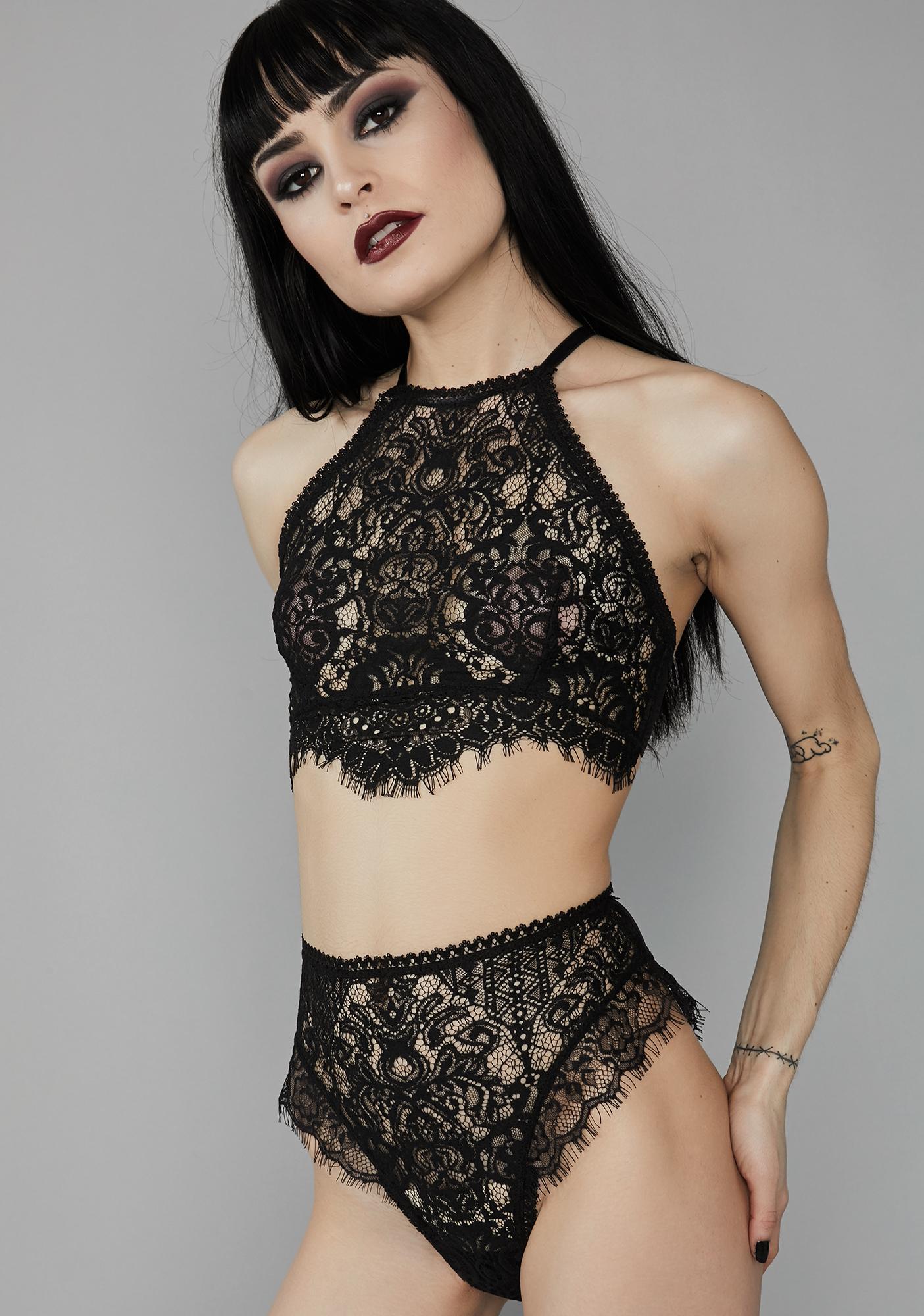 Widow Haunted Harlow Lace Panties