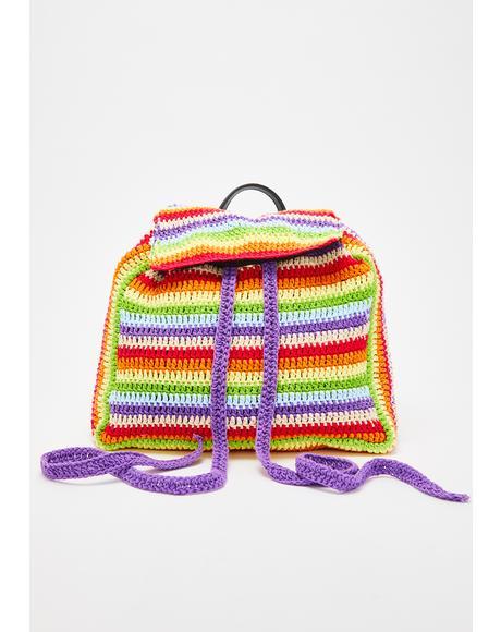 Hipster Mania Crochet Backpack