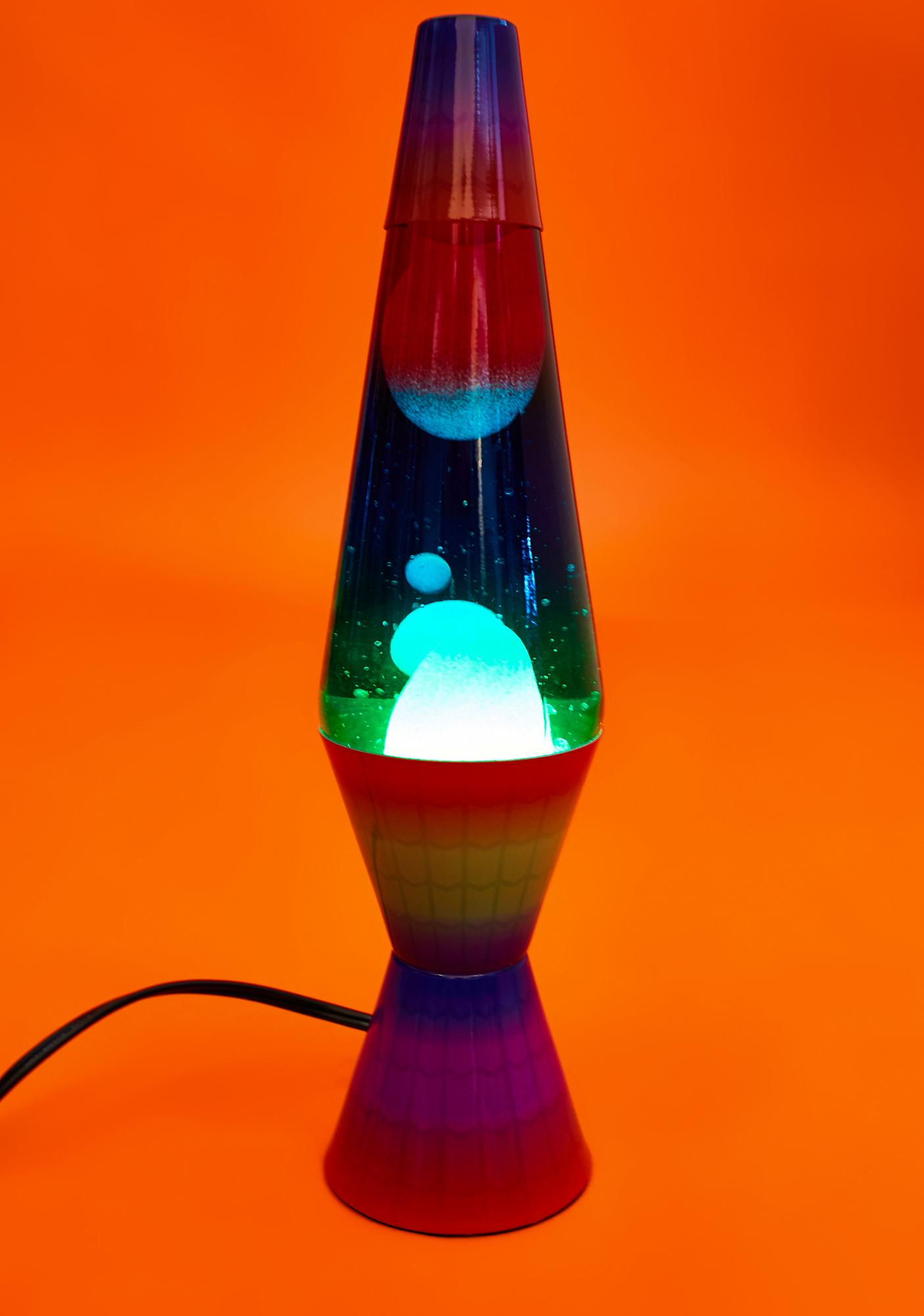 "LAVA Rainbow 14.5"" Lava Lamp"