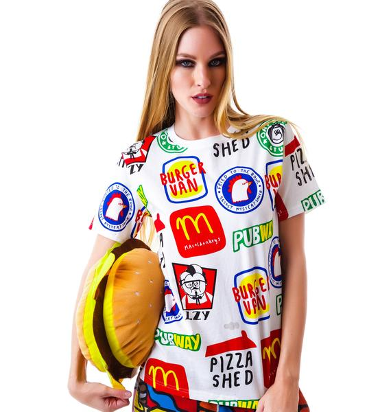 Lazy Oaf Pubway T-Shirt
