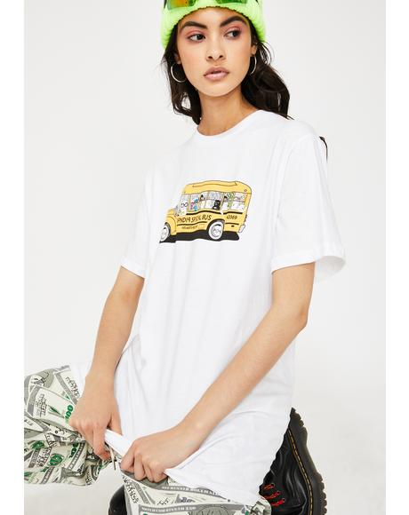 School Bus Graphic Tee