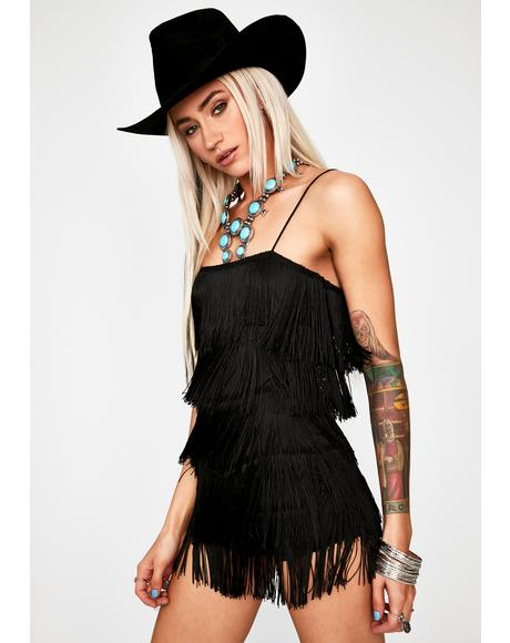 Bad Road To Nowhere Fringe Romper