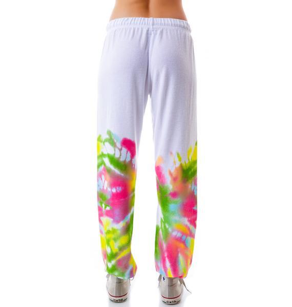 Lauren Moshi Tanzy Tie Dye Bear Pants