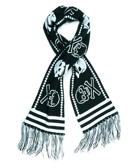 Skelly Knit Scarf