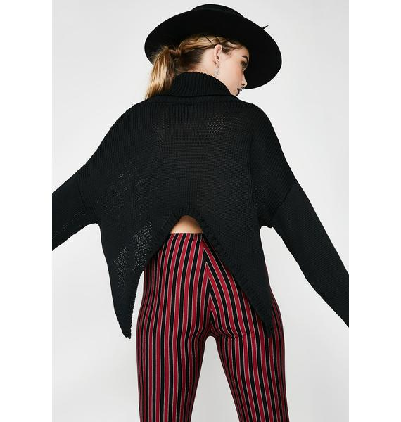 Dark Inside Cropped Sweater