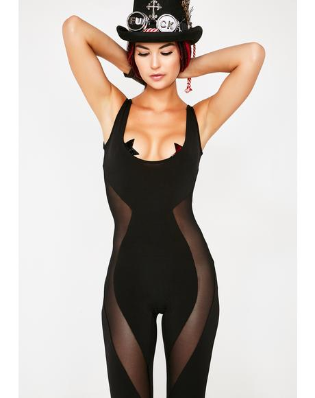 Saint Of Sin Sheer Jumpsuit