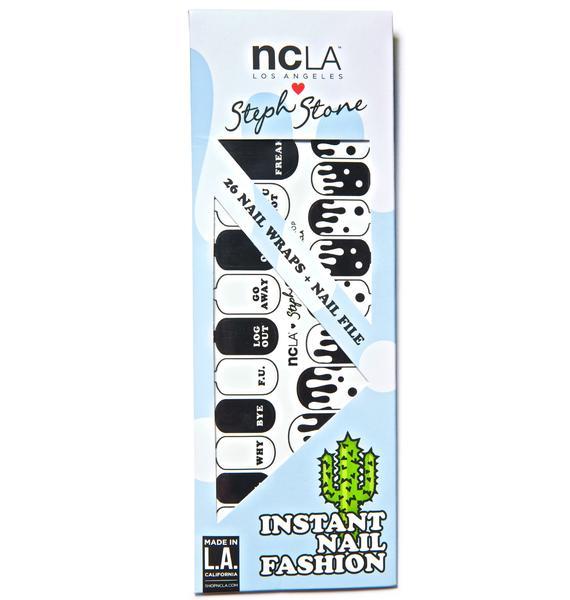 NCLA Acid Drop Nail Wraps
