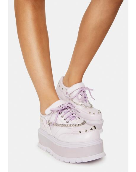 Fairy Retrograde Rebel Platform Ankle Boots