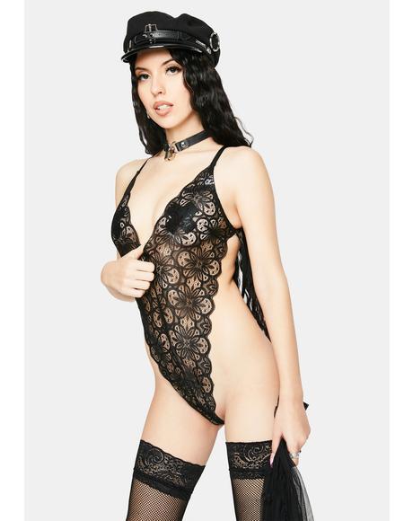 Noir Primadonna Pixie Tulle Skirt Set