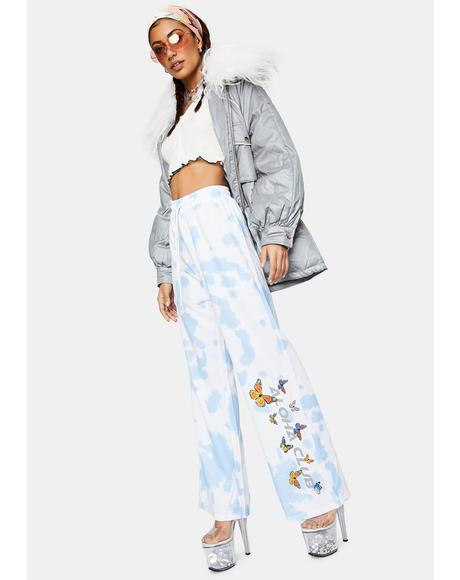 Aloha Butterfly Sweatpants
