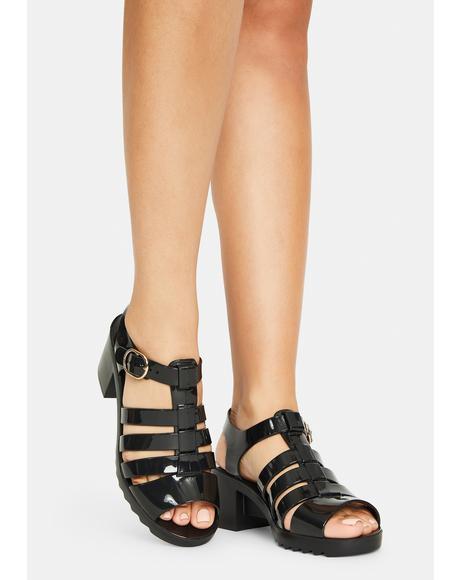 Dark Narrangasett Heels