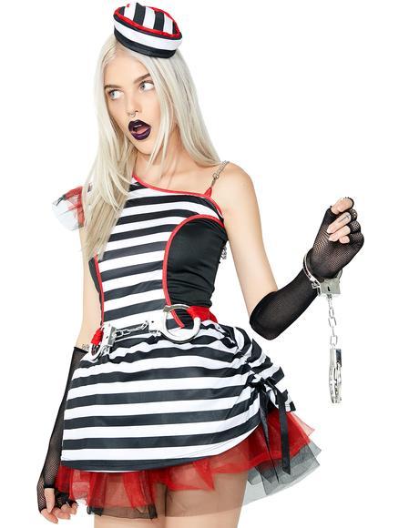 Jailhouse Queen Costume