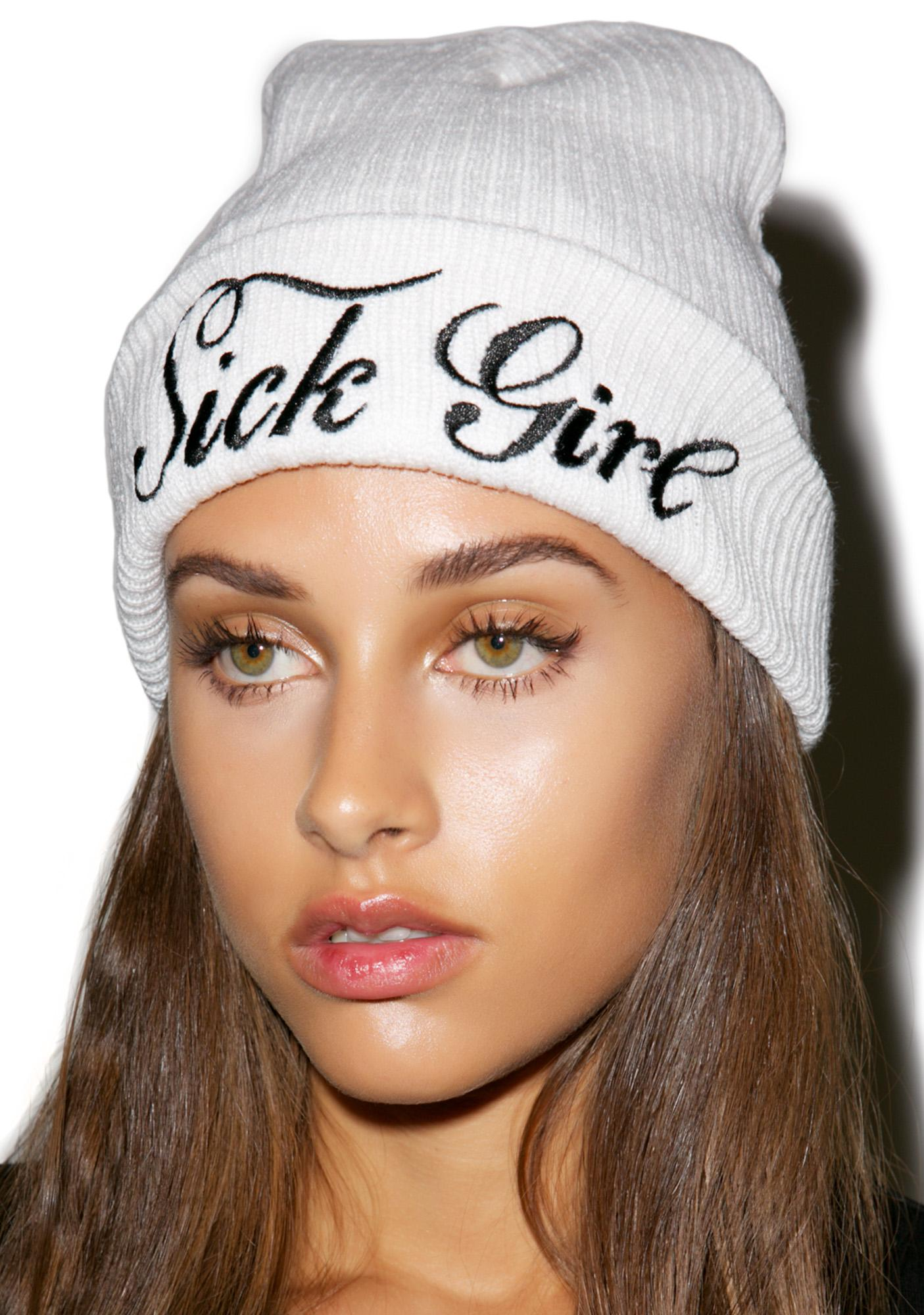 Sick Girl So Cold Sick Girl Beanie