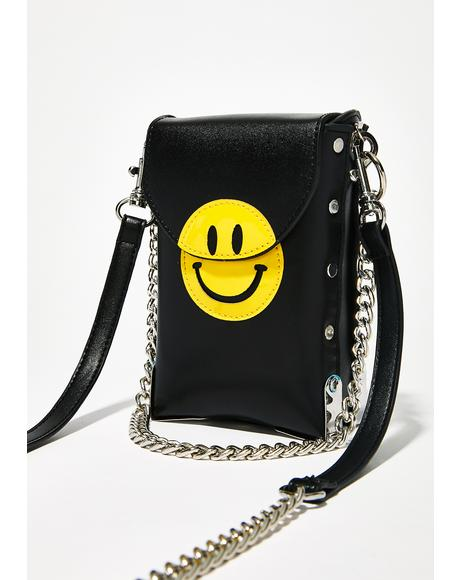 Emoticon Crossbody Bag