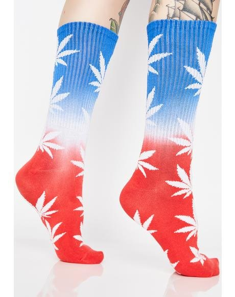 Huf Plantlife USA Socks