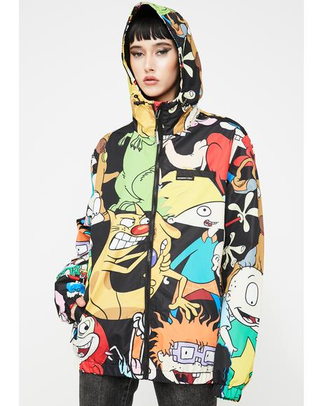 Nickelodeon Windbreaker