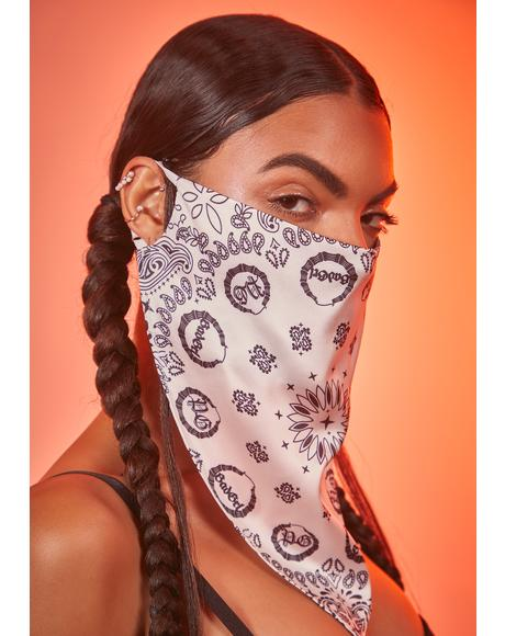 Pure Fierce Safety Bandana Mask