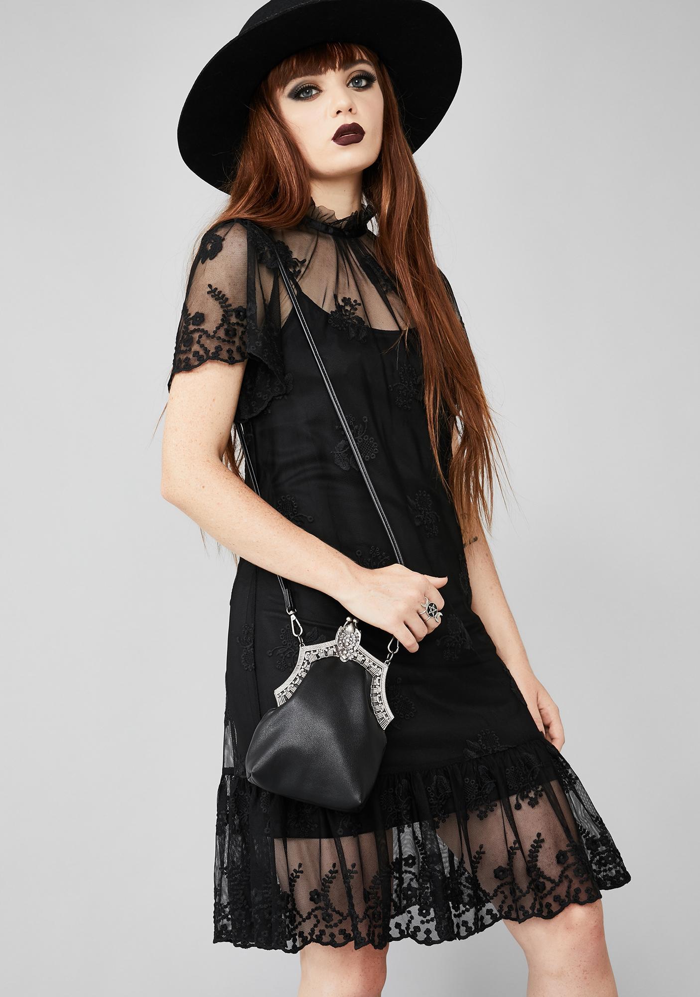 Widow Lady Lovesikk Lace Dress