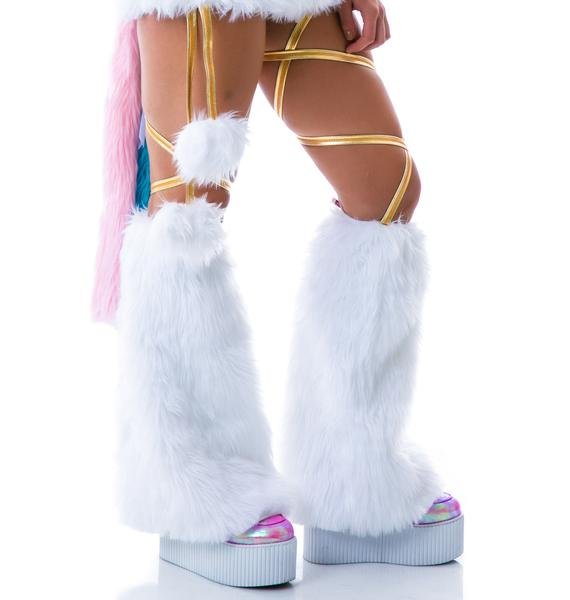 J Valentine My Little Unicorn Legwarmers