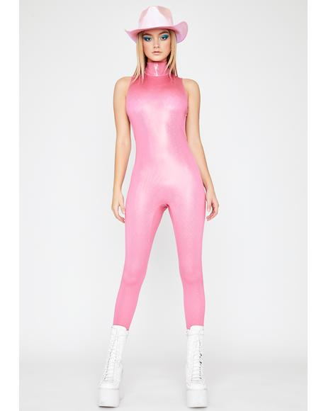 Pop Mania Sleeveless Catsuit