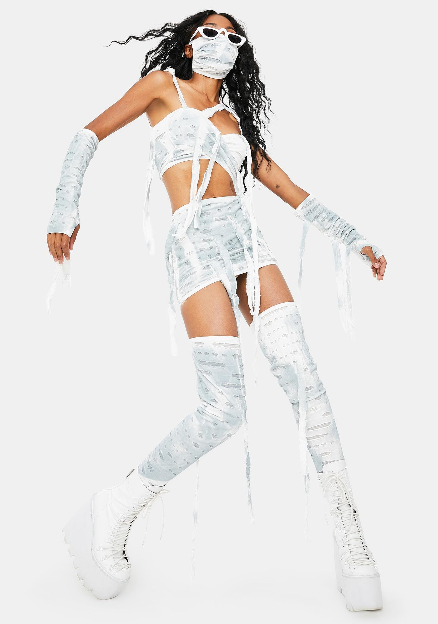 Dolls Kill Call My Mummy Costume Set
