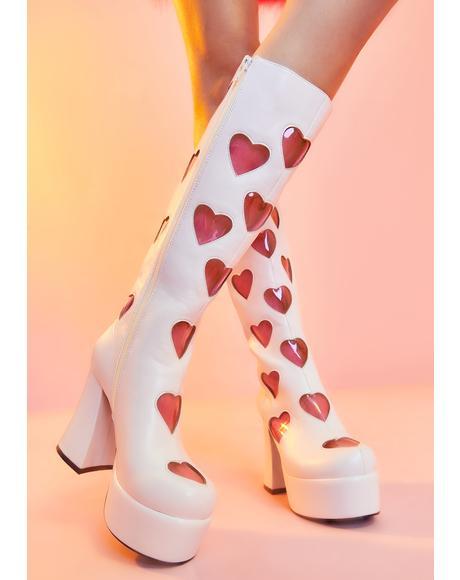 Retro Romance Go Go Boots
