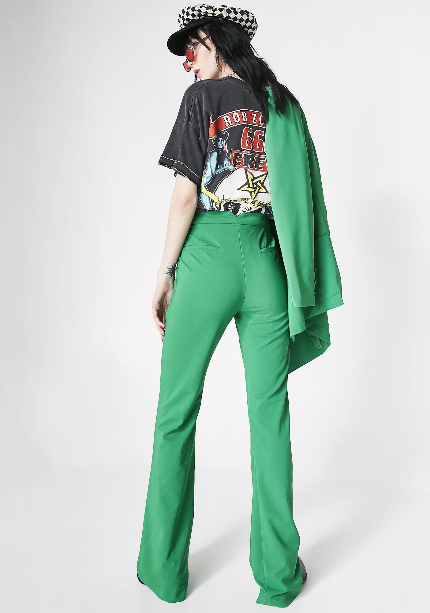 Top Notch Babe Flare Trousers