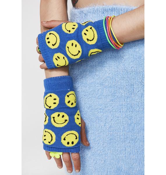 Get Happy Fingerless Gloves