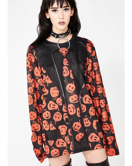 David Pumpkins Long Sleeve Tee