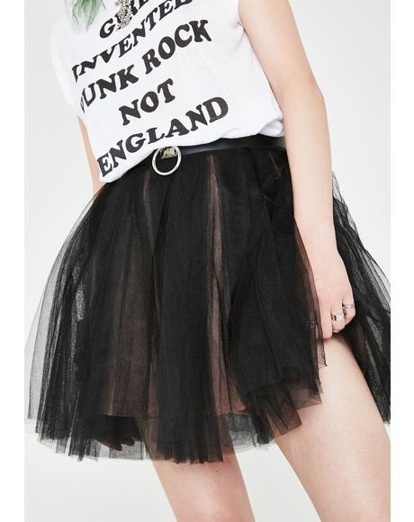 Not Ur Princess Tulle Skirt