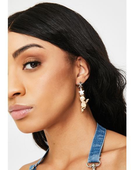 Sinful Saint Drop Earrings