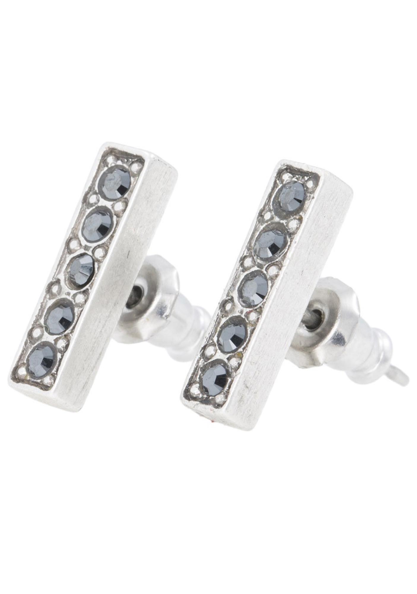 Vanessa Mooney Femme Fatale Antiques Earrings Silver