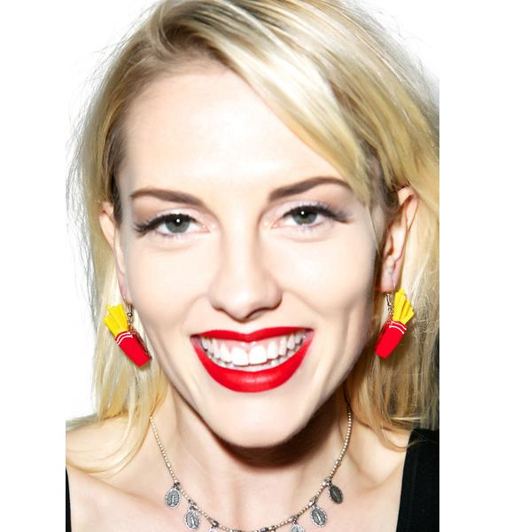 French Fryin' Earrings