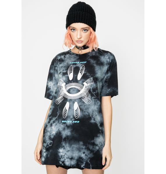 Dreamboy Laugh Now Tie Dye Tee