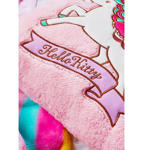 Sanrio Unicorn Kitty Cushion