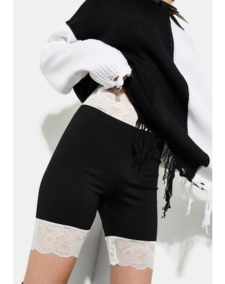 Twisted Rumor Romance Biker Shorts