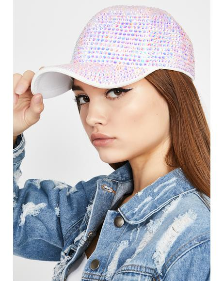 Crystal Bring The Bling Baseball Cap