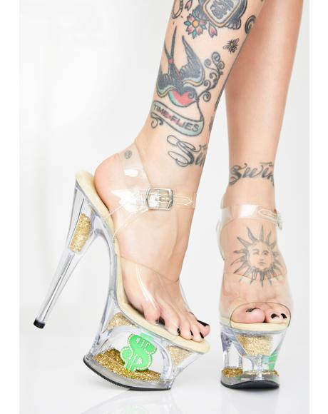 Shmoney Honey Platform Heels