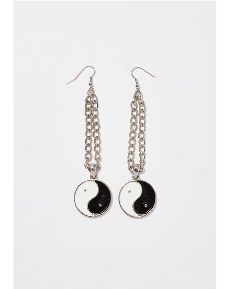 Good Or Bad Drop Earrings